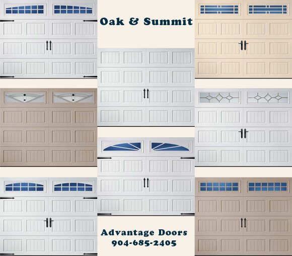 Amarr Garage Doors   Oak U0026 Summit Collection